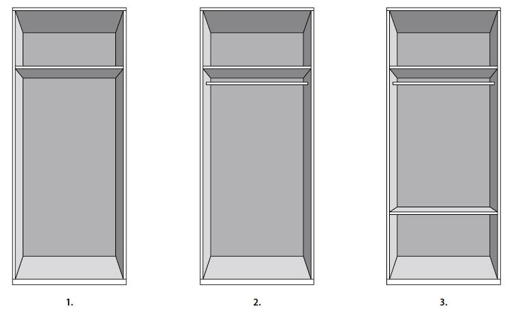Interior de armarios dise o y colocaci n - Diseno interior armario ...
