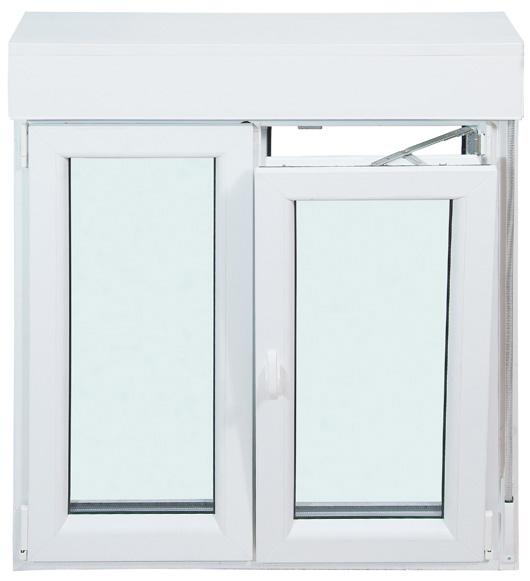 Venta de ventanas de pvc en madrid for Precio ventana pvc con persiana